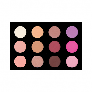 12 Colour Blush/Highlighting Palette